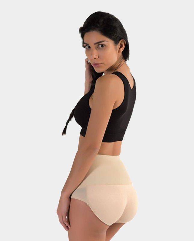 Extreme Push-Up Slip beige Hoge Taille