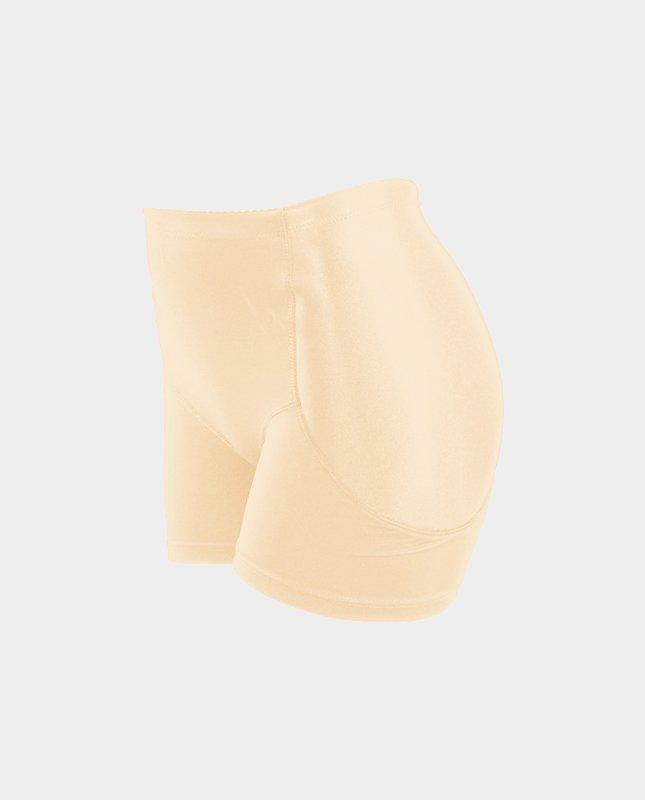 Push-Up boxer voor de heupen beige