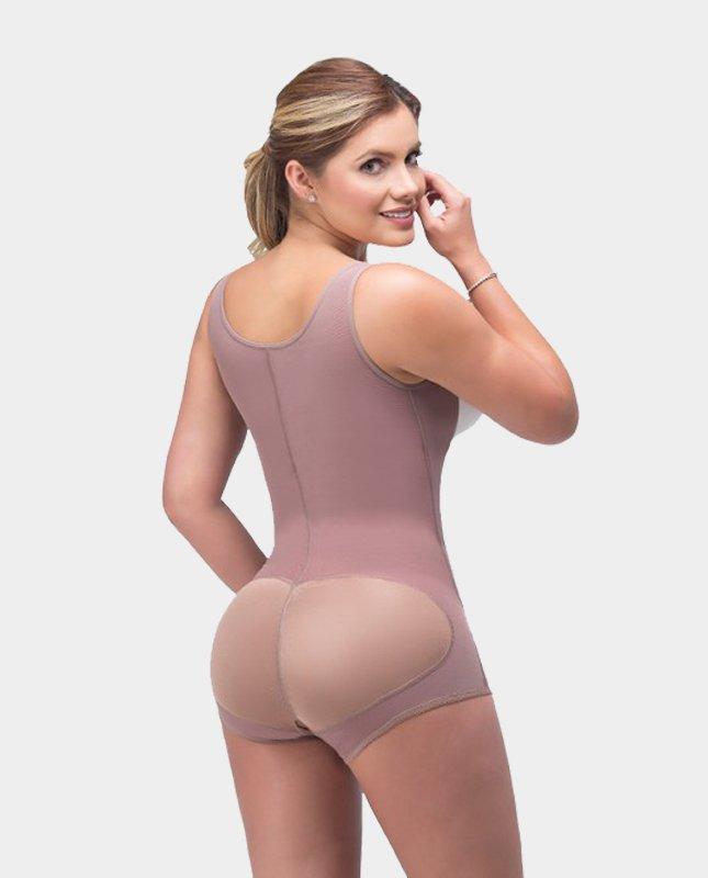 Postoperatieve Body Juana Drukkleding na Liposuctie -achterkant