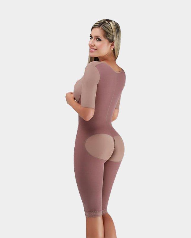 Postoperatieve-Full-Body-Lupita-Drukkleding-Liposuctie-achterkant